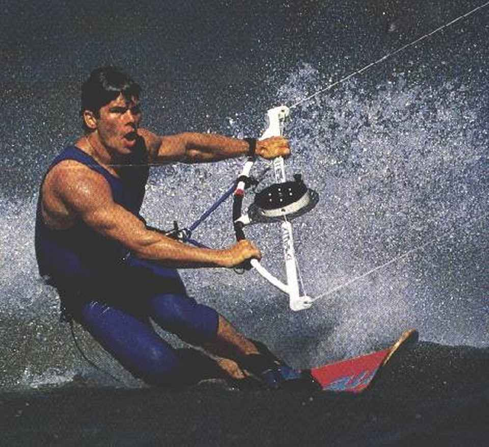 Cory Roeseler in the 90s. This picture shows best how kitesurfing has changed over the years